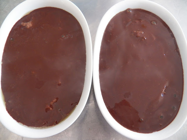 Baked Chocolate Pudding for #BakingBloggers