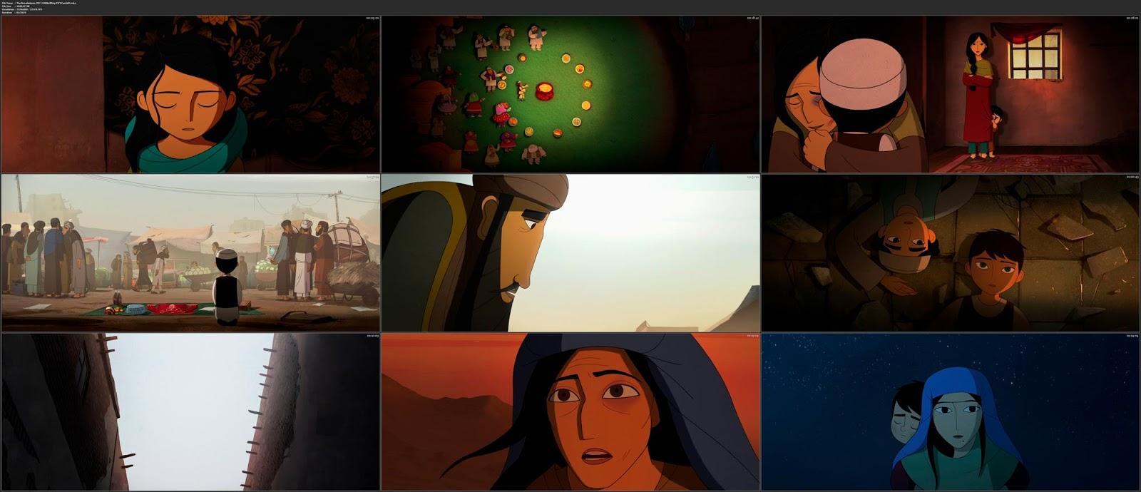 El pan de la guerra (The Breadwinner) - pelicula animación