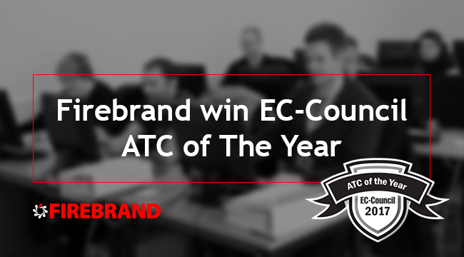 Firebrand win EC-Council ATC of The Year 2017