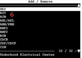 Tech 2 program DLR, add UEC module (manual)6