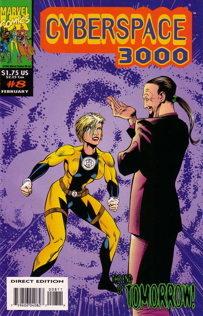 Read online Cyberspace 3000 comic -  Issue #8 - 1