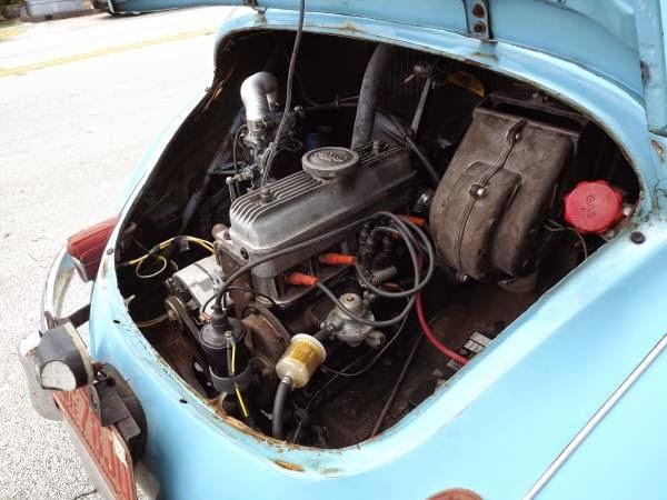 1957 Renault 4cv Auto Restorationice