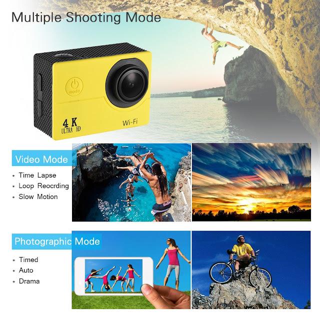 Camera hành trình 4k video