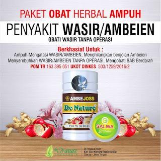 Obat Wasir Ambeien Tradisional yang Terdaftar di BPOM