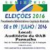 Seminário eleições 2016