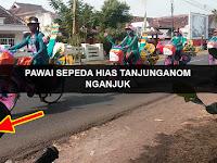 Pawai Sepeda Hias Tanjunganom, Nganjuk 2017