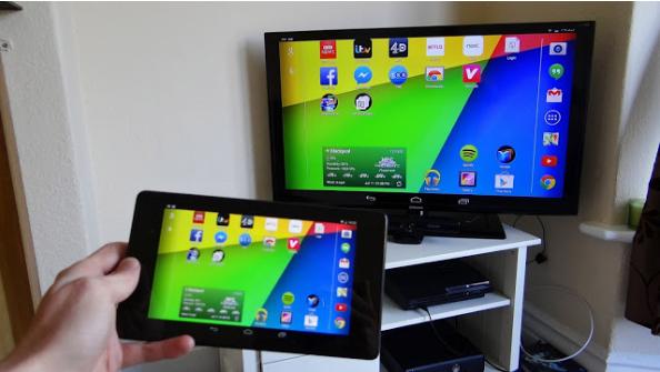 """تحميل تطبيق مشاركة الشاشة علي التلفاز الذكي """"Screen Mirroring"""" بدون كابلات"""