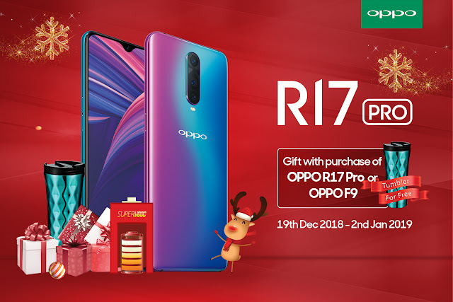 Exclusive Tumblr on OPPO F9 | OPPO R17 Pro | OPPO R15 Pro | OPPO Find X starting 19th December 2018 to 2nd January 2019