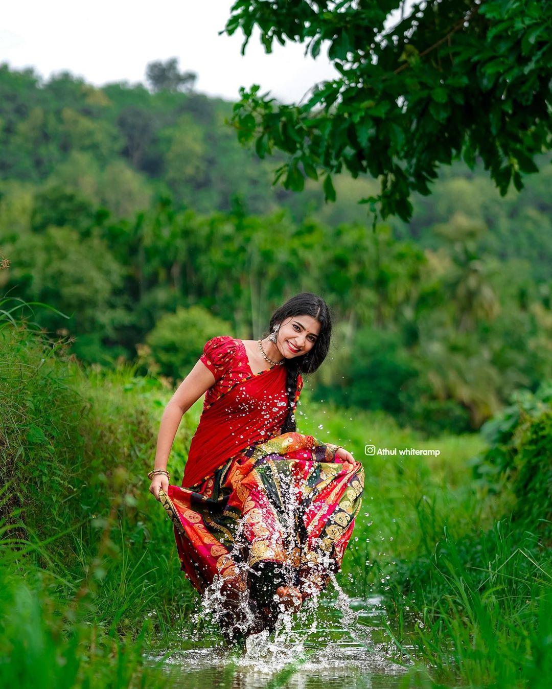 Petta Tamil Movie Actress Malavika Sreenath Photoshoot Stills