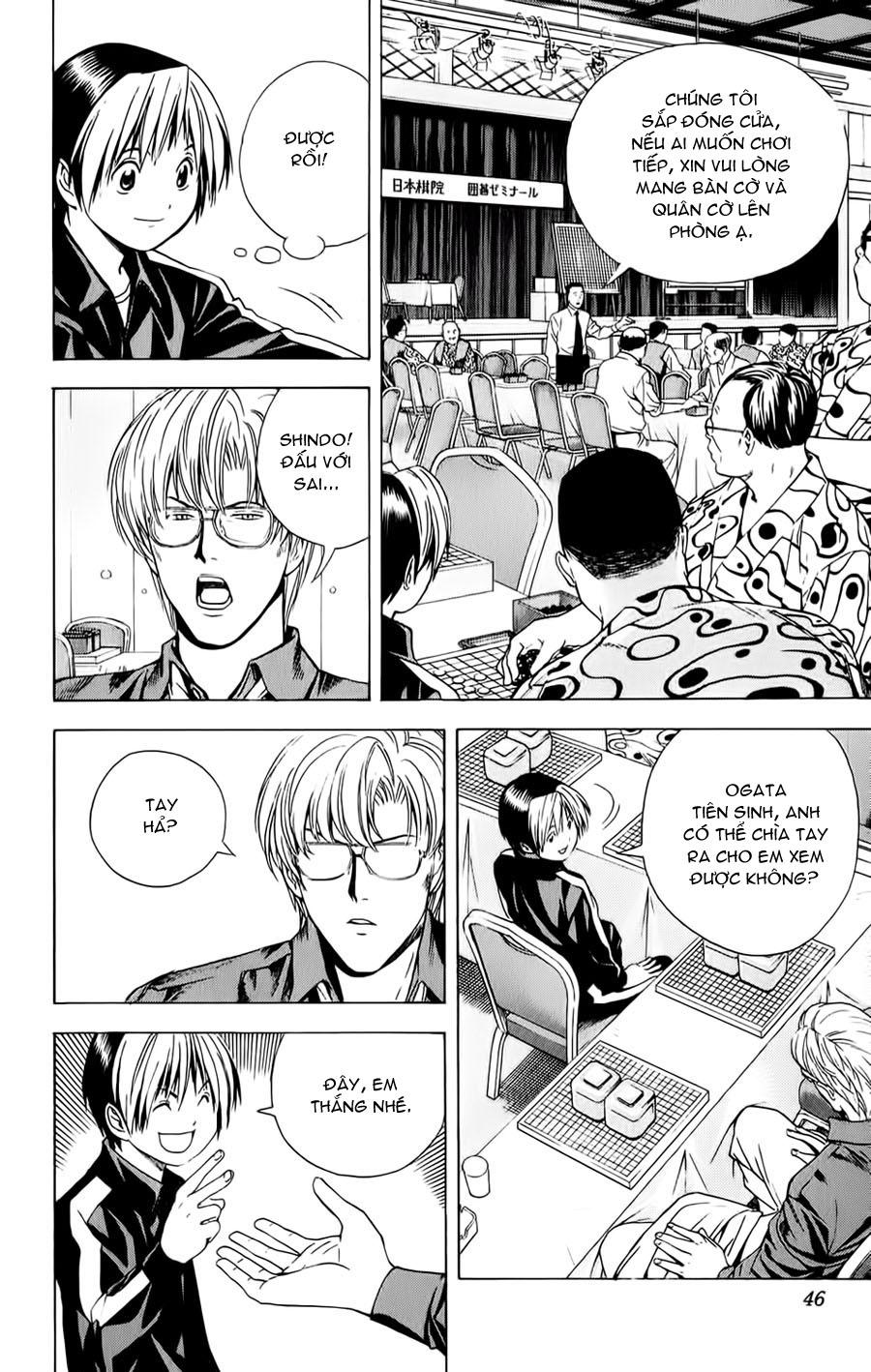 Hikaru No Go hikaru no go chap 123 trang 19