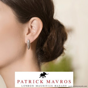 Countess Sophie wore Patrick Mavros Pangolin Earrings