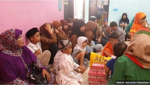 Murid TK Khalifah Didatangi Anak Panti Asuhan