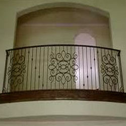 Modern homes iron grill balcony designs new home for Balcony designs in pakistan