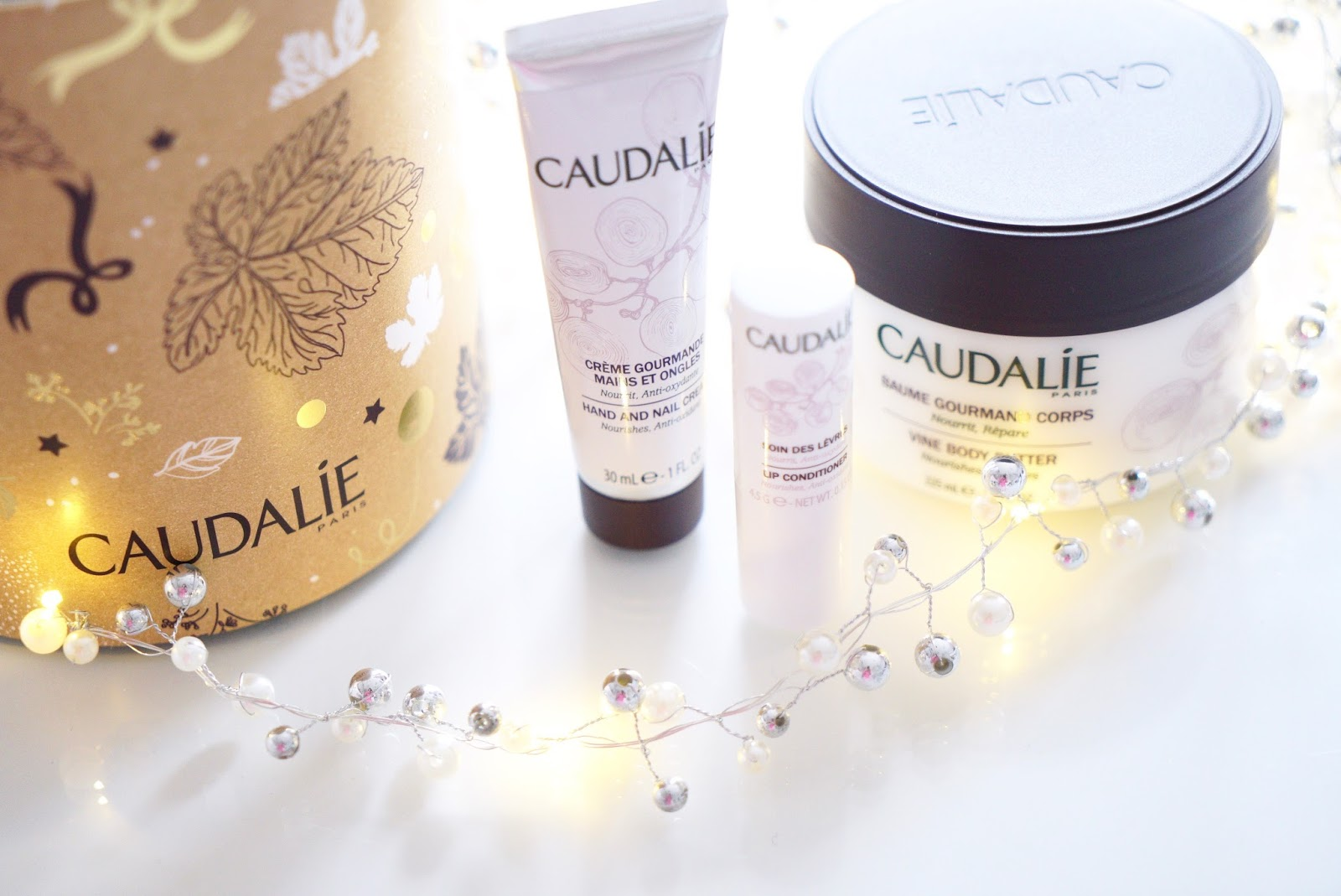 caudalie body gift set