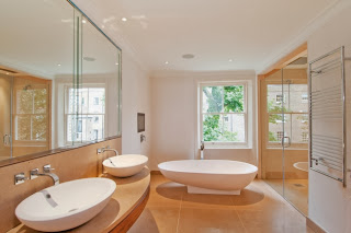 decorar baño minimalista