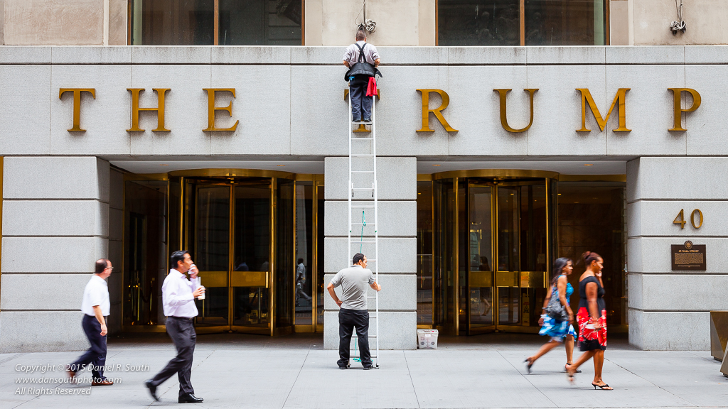 a photo of a trump building in lower manhattan new york