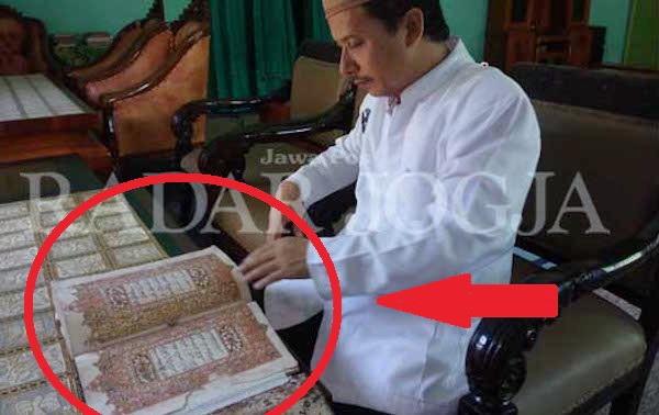 Al Qur'an Di Jaman Pangeran Diponegoro Ini Ternyata Masih Terjaga Dengan Baik