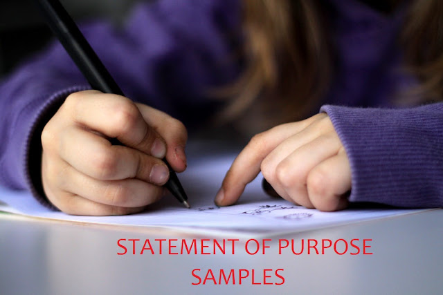 Samples of Statement of Purpose for students International Studies