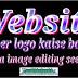 Website header logo kaise banaye bina image editing seekhe.