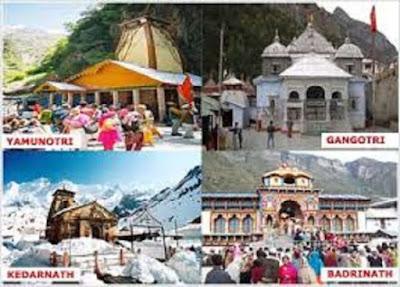 Char Dham Yatra Tour From Delhi