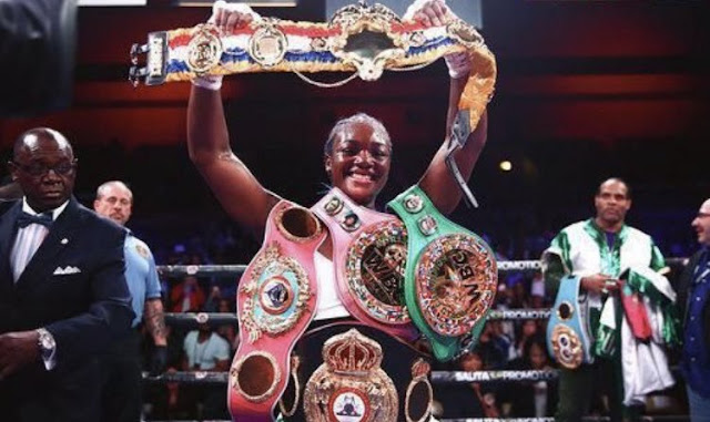 Claressa Shields Unifies Middleweight Division