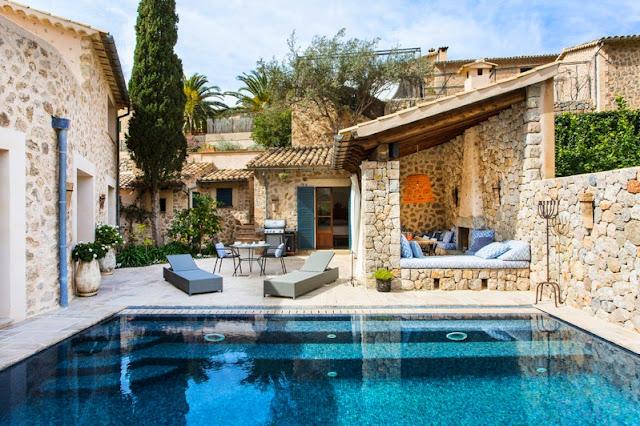 casa en deia chic y mediterranea chicanddeco blog