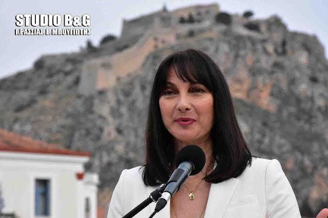 Επιμορφωτικά προγράμματα στο Ναύπλιο ζήτησε από την Έλενα Κουντουρά η Π.Ο.Ε.Ε.Τ.