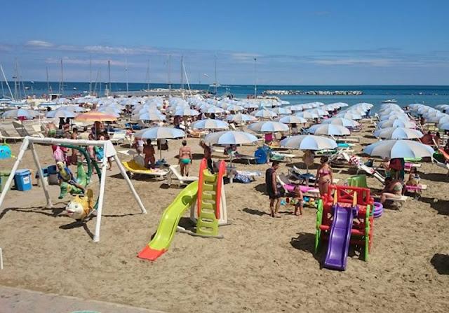 Praia Egisto 38 em Rimini