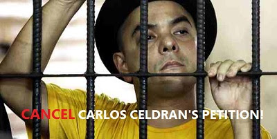 Carlos Celdran's Petition for President Duterte to Resign