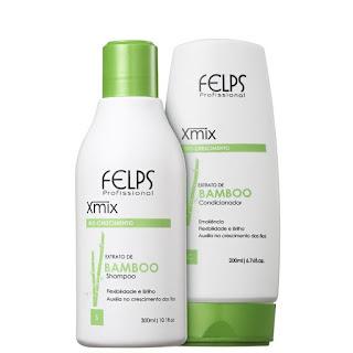 shampoo e condicionador felps extrato de bambu
