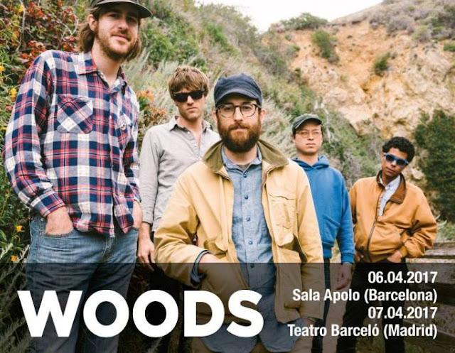 Woods, dos conciertos en Barcelona y Madrid