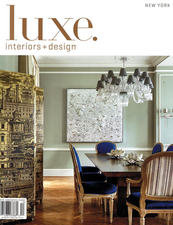 luxe magazine celebrates gold list. Black Bedroom Furniture Sets. Home Design Ideas