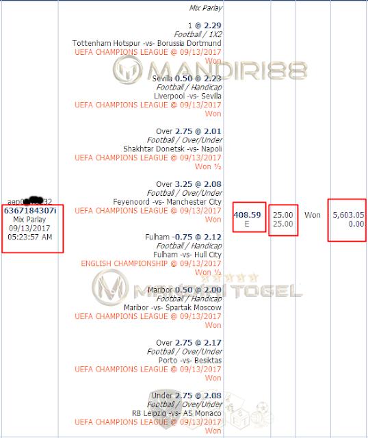 Jakcpot Mix Parlay Bpk DOXXXR SITXXXUL di Mandiri88