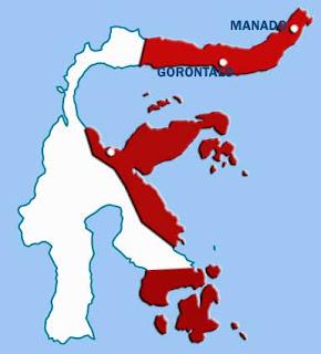 Territorial map of Gowa-Tallo Kingdom