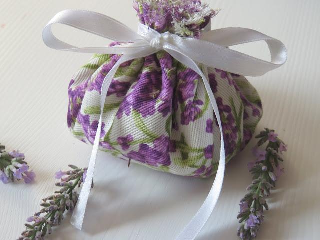 Lavendelsäckchen mit Kindern