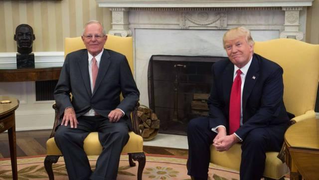 Donald Trump: Tenemos un problema con (el gobierno de) Venezuela, lo están haciendo muy mal
