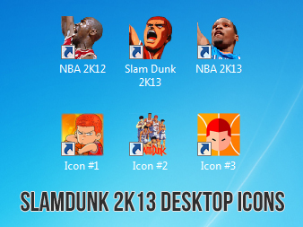 Download Slamdunk Icon Set Game Mods