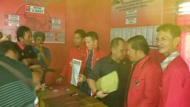 DPP PDIP Rekomendasi Pasangan Joncik-Yulius