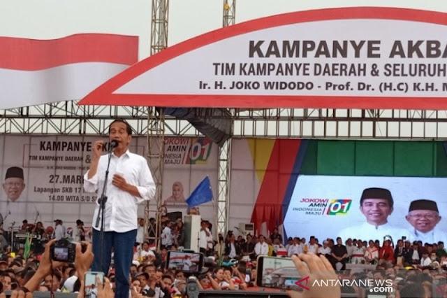 Begitu Jokowi Terdesak, Larinya ke Khilafah Lagi