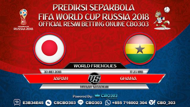 Prediksi Bola Japan VS Ghana 30 Mei 2018