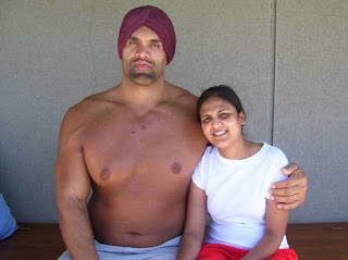 khali wife pic