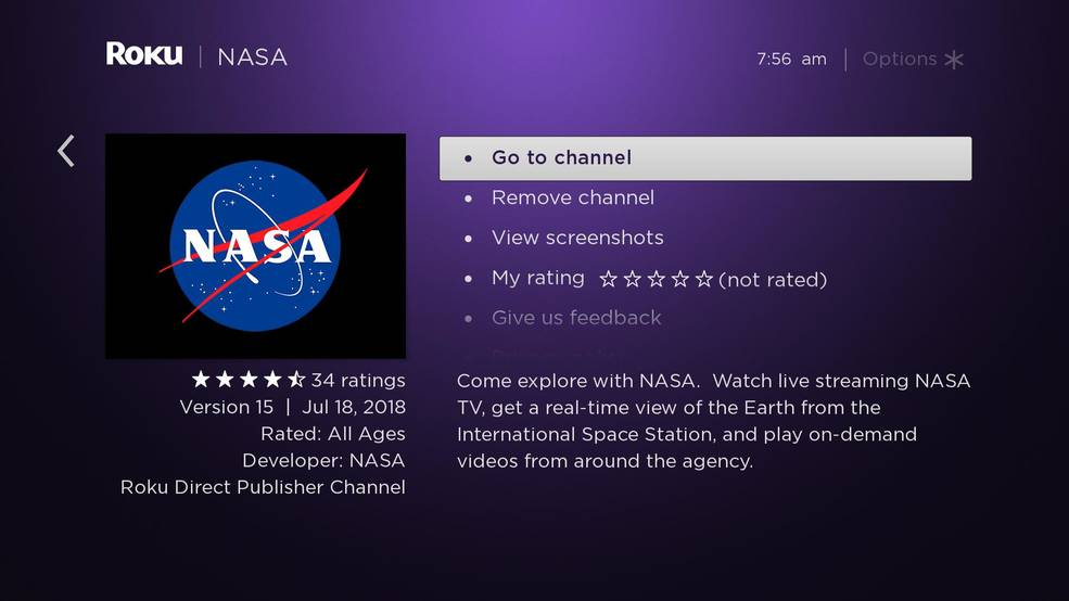nasa channel on direct tv - 985×554