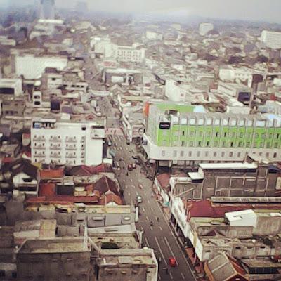 Melihat Kota Bandung dari ketinggian