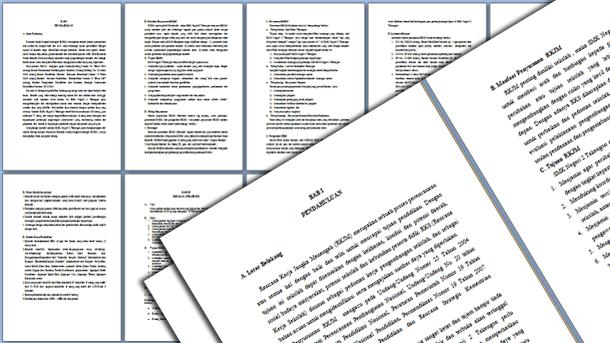 File Pendidikan Contoh Rkjm Sd Smp Sma Smk Format Microsoft Word