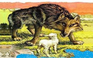 Il Lupo e l'agnello (Fedro)