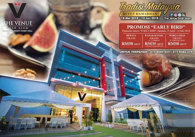 Tradisi Malaysia Ramadan Buffet @ The Venue Shah Alam