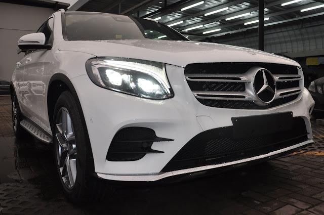 Mercedes GLC 300 4MATIC thiết kế thể thao mạnh mẽ