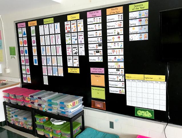 Kindergarten classroom decor