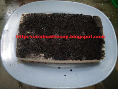 Foto Cheese Cake Milk Oreo Banana