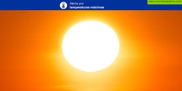 El Gobierno de Canarias declara la situación de Alerta por Temperaturas Máximas en Canarias